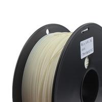 ASA Filament Water/UV Resistant 3D Printer Filament Higher Rigidity Than ABS White Color PVB TPU TPE PVA PA PETG HIPS