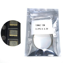 10pcs SMD 3225 active crystal oscillator OSC 12MHZ 12M 3.2*2.5 3.3V 25PPM