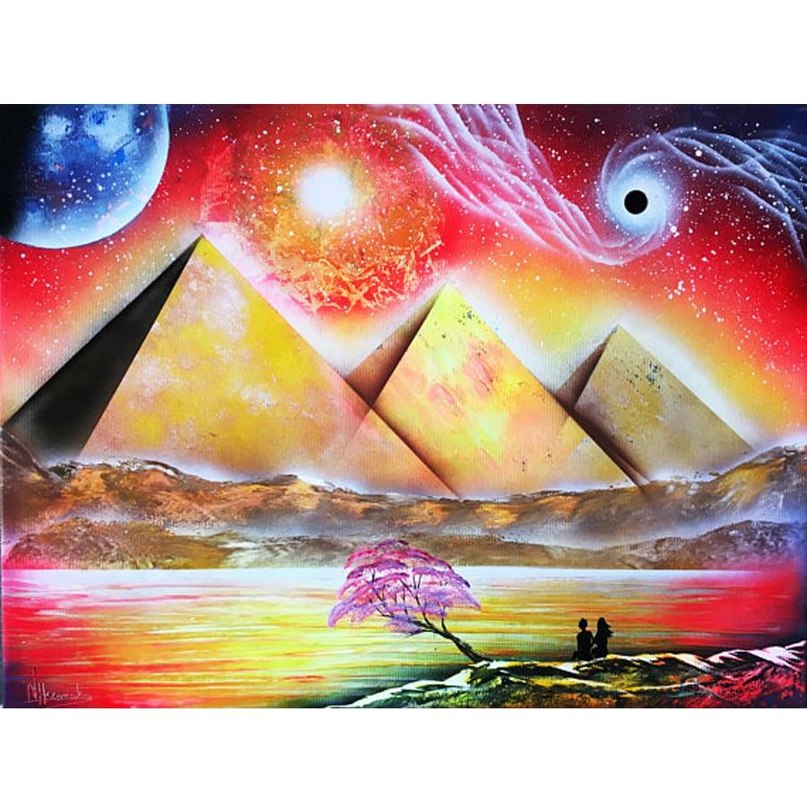 Diamond Painting Magic pyramids eye Rhinestones Mosaic 5D DIY Square/Round Embroidery Full Display Home Decor Egyptian art