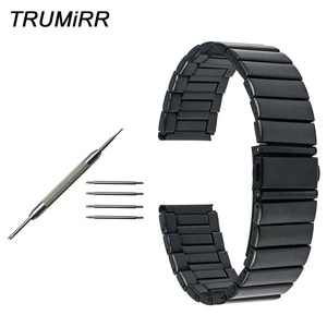 22mm 24mm Stainless Steel Watchband + Tool for Diesel Men Women Watch Band Wrist Strap Bracelet All Links Removable Black Silver