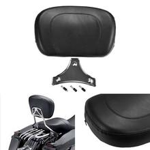 Rear Passagierskussen Pad Seat voor Harley Yamaha Honda Suzuki Kawasaki Fietsen/Custom Bikes/Choppers/Touring/ cruiser