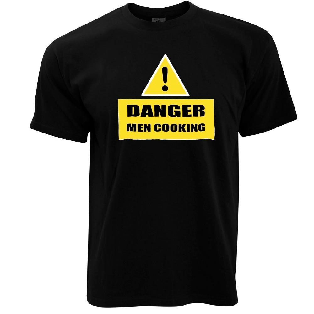 2019 de moda caliente peligro hommes cocina DROLE prints lema cita modele camiseta T shirt