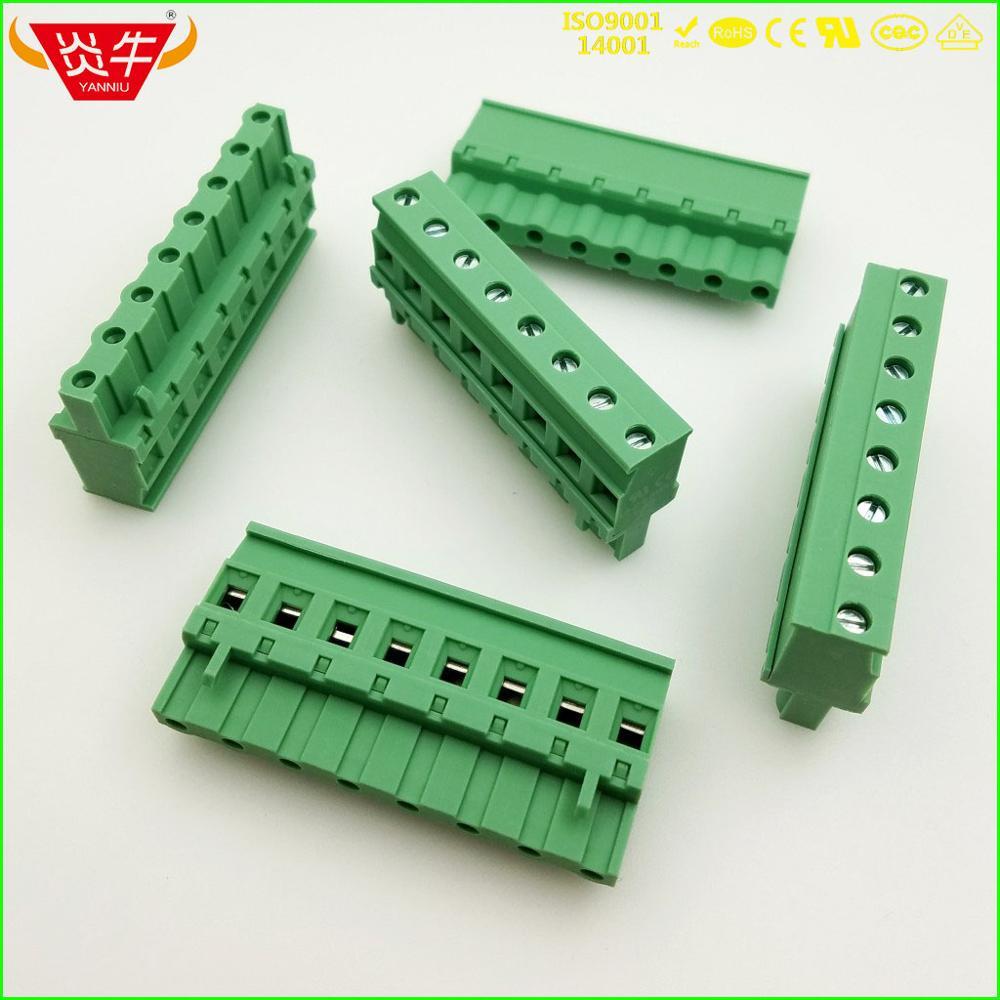 KF2EDGKA 7,62 2P ~ 12P PCB conector macho en bloque de TERMINAL 2EDGKA 7,62mm 2PIN ~ 12PIN GMVSTBR 2,5 ST 1832523 PHOENIX póngase en contacto con