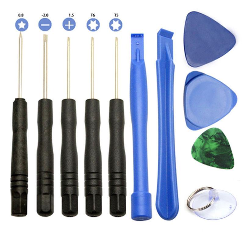 Kit de herramientas de palanca de apertura para reparación móvil, destornillador para Apple iPhone 4/4S/5 Ipod, herramientas de palanca para Samsung, HTC, Moto universalmente
