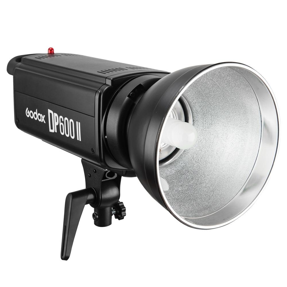 Godox estroboscópico DP600II 600W estudio profesional Flash Light con incorporado Godox 2,4G inalámbrico X sistema para fotografía