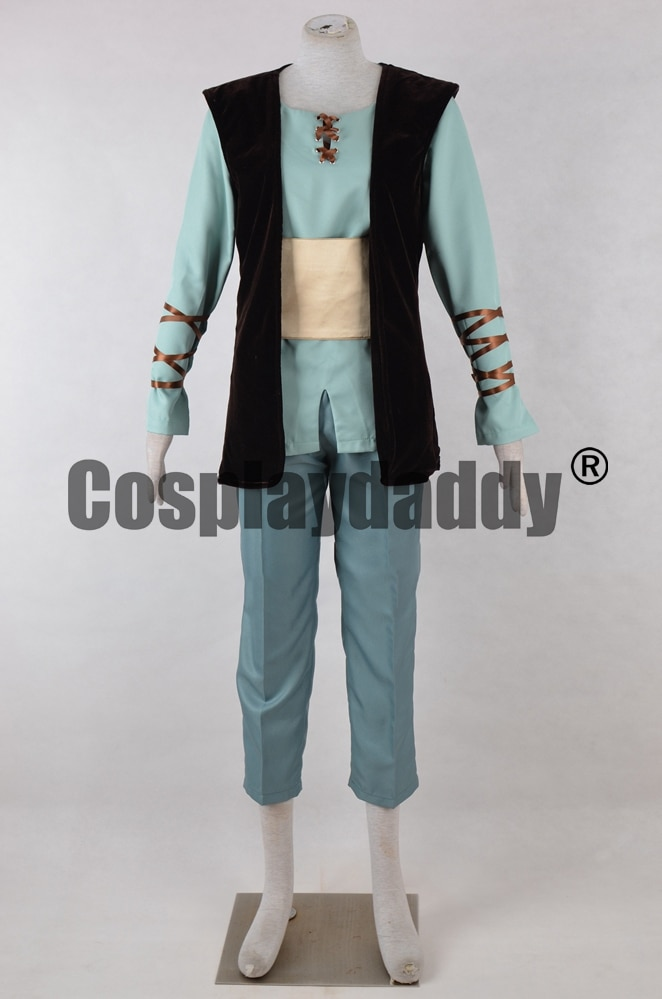 How to Train Your Dragon Hiccup Horrendous Haddock III Outfit Fantasy Film Cosplay Costume F006