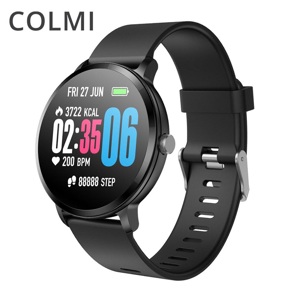 Смарт-часы COLMI V11, мужские часы с пульсом IP67, водонепроницаемые, погодные, фитнес-трекер, умные часы для IOS, Android, носимые устройства