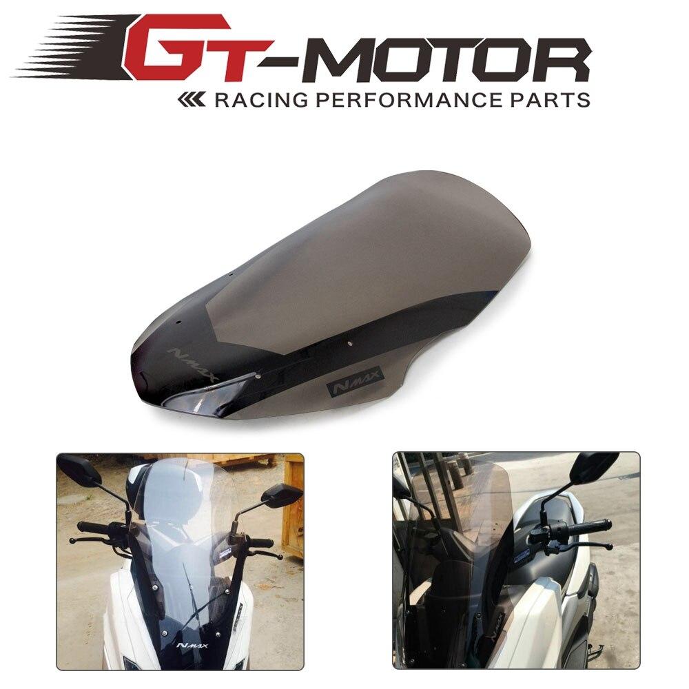 دراجة نارية الزجاج الأمامي منحرف الرياح درع الشاشة لياماها NMAX155 N-MAX 125 NMAX125 NMAX 155 2016 2017 2018 2019