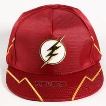 DC COMICS Super Hero De Flash Man Mode Snapback Caps mannen Verstelbare Baseball Hoeden Zon Hoeden