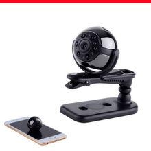 Mini caméra DV Sports IR   Carte + SQ9, Full HD 1080P, Mini caméra DV Vision nocturne DVR, 32 go