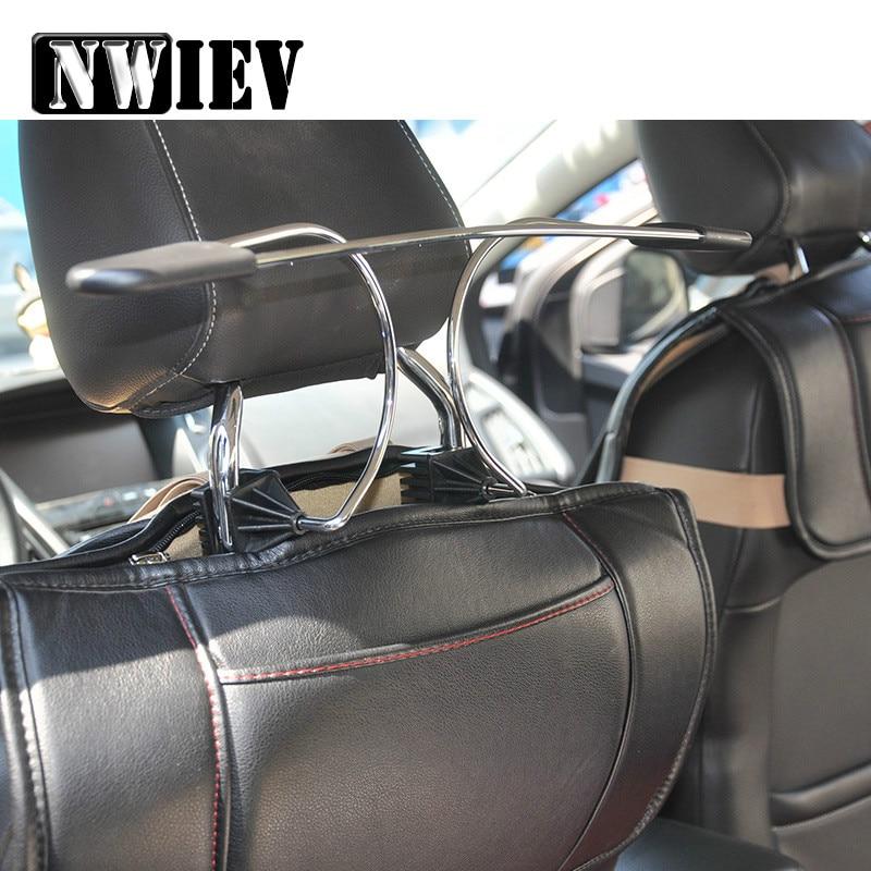 1 Uds. De suspensión de metal y acero inoxidable para el reposacabezas de Honda Civic Fit Accord Jaguar Renault Megane 2 3 Duster Logan