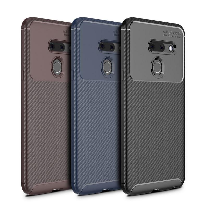 Funda de teléfono de lujo para LG G8 ThinQ Fundas smartphone armadura...