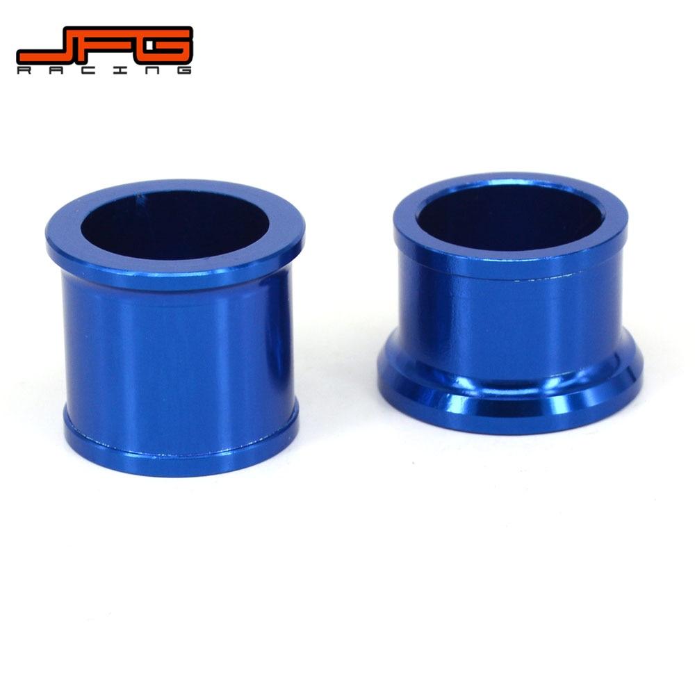 De aluminio CNC de cubo de rueda delantera de espaciadores para YAMAHA YZ125 YZ250 2002-2007 YZ250F YZF250 2002-2006 YZ450F YZF450 2003-2007