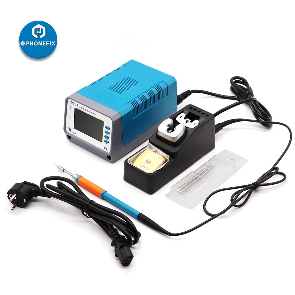 Оригинальная паяльная станция LEISTO T12-11 без свинца 3 секунды высокоточная температура материнская плата для мобильного телефона сварочный и...