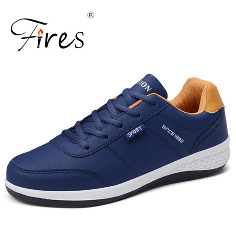 Moda transpirable malla hombres zapatos antideslizantes goma suela Hombre Zapatos 2019 verano otoño más tamaño 39-44 zapatos hombre negro