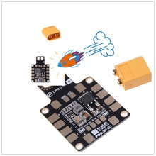 Matek Systems PDB XT60 W/ BEC 5V & 12V 2oz Copper For RC Helicopter FPV Drone Toys Spare Parts