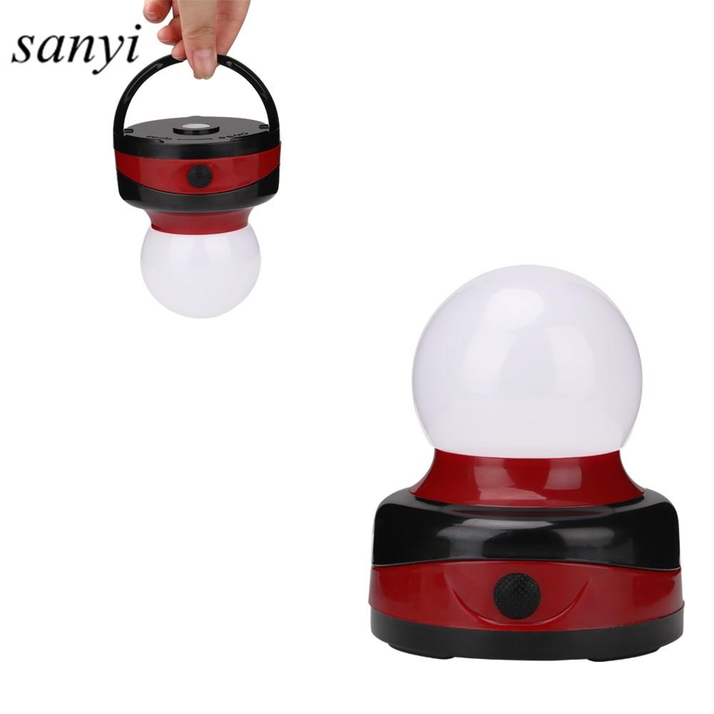 Портативный светодиодный фонарь для кемпинга, фонари для кемпинга, наружные подвесные лампы для палаток, рабочий свет с магнитным крючком AA