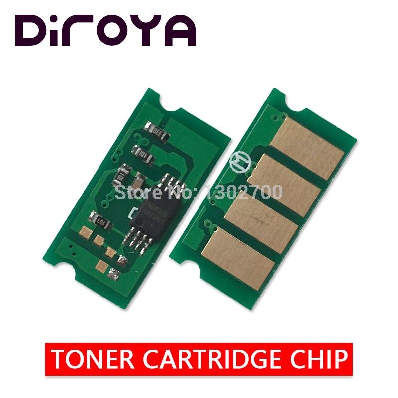 8 pcs SPC260 SPC261 KCMY Chip Do Cartucho de Toner Para ricoh Aficio SP C260 C261 C260DNW C261SF C 260DNW 261SF DNW SF pó redefinir