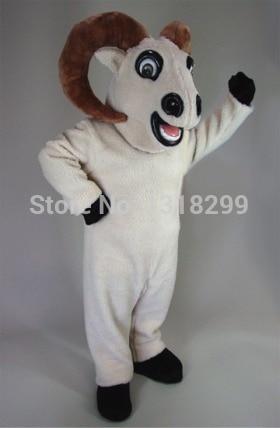 Mascota Bighorn mascota ram cabra disfraz vestido de lujo traje cosplay tema mascota disfraz de Carnaval