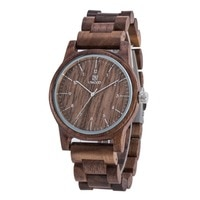 Fashion gift wooden watch high quality quartz wooden watch by MUYES sandals lightweight watch top luxury brand men and women