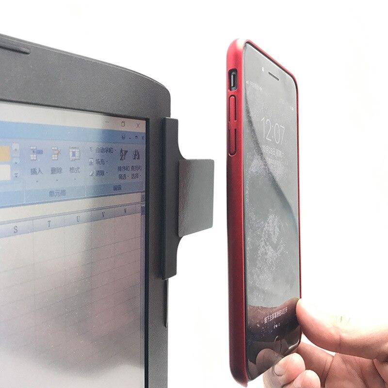 Дисплей монитора Магнитная подставка для iPad mini Air iPhone X/6/7 Web Live мобильный телефон поддержка ленивый Держатель Для iMac экран