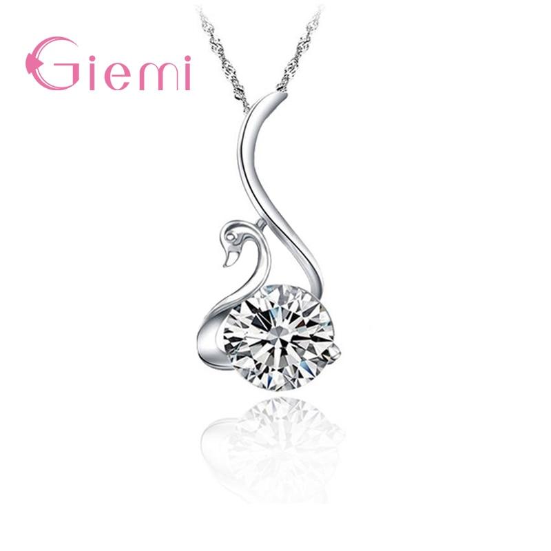 Элегантное-ожерелье-с-подвеской-в-форме-лебедя-серебряная-бижутерия-для-женщин-красивый-Подарок-на-годовщину-церемонию-любовь