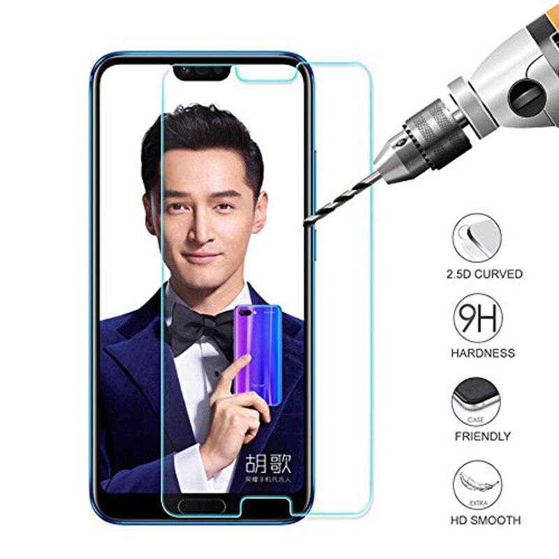 9H przeciwwybuchowe szkło hartowane dla Huawei Honor 10 COL-AL00 Honor 9 Lite 7A Pro 7C Y6 2018 STF-L09 Case Film Screen Protector