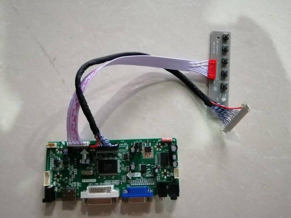 Latumab nuevo HDMI + DVI + VGA Lvds LCD Placa de controlador Kit para 1920X1200 LM240WU2 (SL) (B1) Envío Gratis