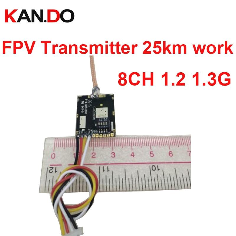 35km work 200mw 8ch 1.2G wireless transmitter 1.3G sender wireless CCTV 1.3G transmittion FPV sender
