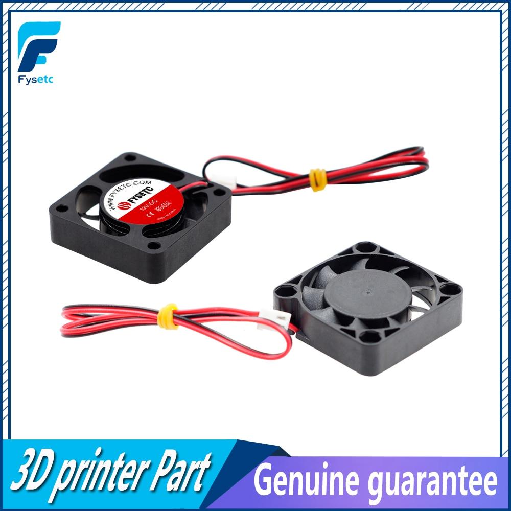2 шт. 3D принтер 4010 Вентилятор охлаждения 40x40x10 мм 12 В 0.11A с 2 Pin Dupont провод 40x40x10мм