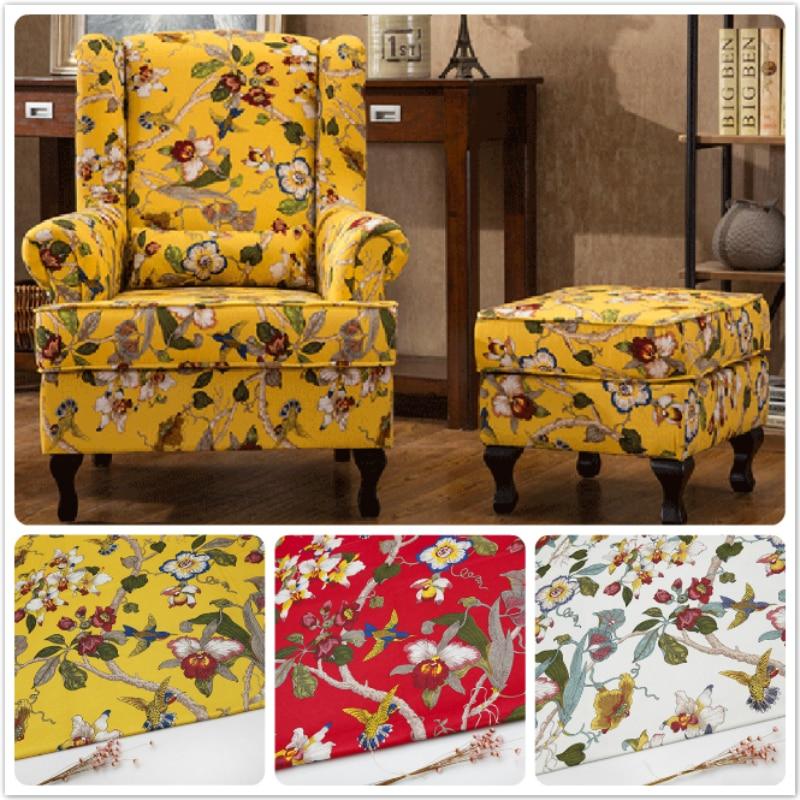 HLQON tela de estilo euroamericano para DIY patchwork mantel de mesa, acolchado y costura para sofá, cortina de Material de cojín, silla