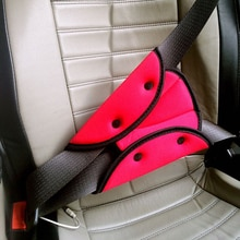 Çocuk araba koltuğu kemer üçgen ayarlayıcı bebek emniyet kemeri göğüs klip kilit çocuklar araba emniyet kemerleri Pad mavi kırmızı gri turuncu
