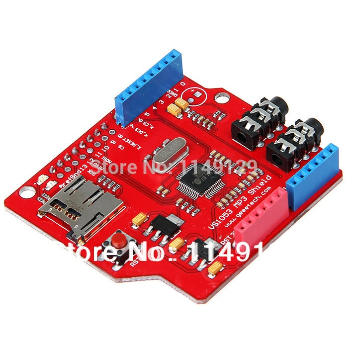 MP3 Breakout Tiny Board with TF Card Slot Based on VS1053B from VLSI for MP3 Play