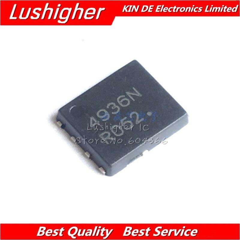 5 uds 4936N QFN NTMFS4936N QFN8 NTMFS4936NT1G QFN-8 nuevo Original