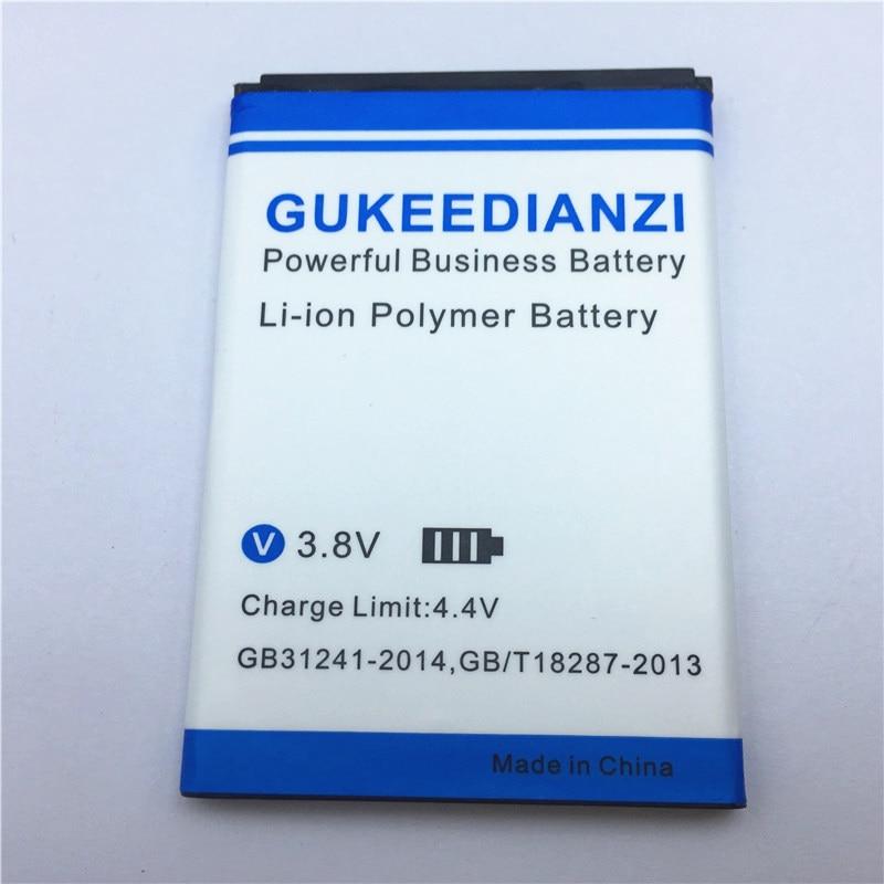 GUKEEDIANZI 2019 nuevo Jimmy 2000mAh reemplazo de batería de teléfono móvil recargable para Wiko Jimmy batería estable de polímero de litio