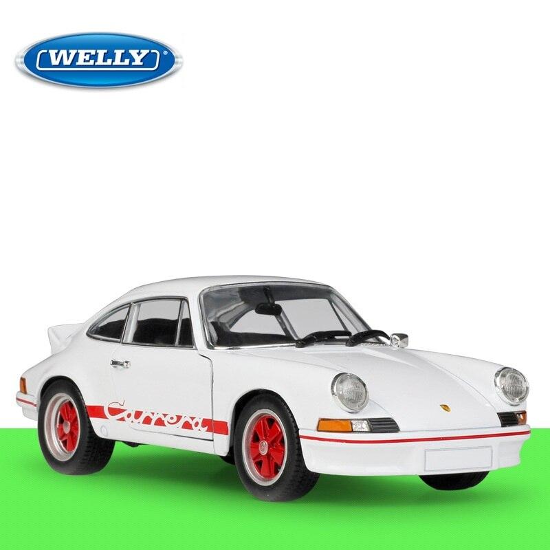 1:24 Welly Porsche 911 Carrera RS 1973 Diecast Model Car