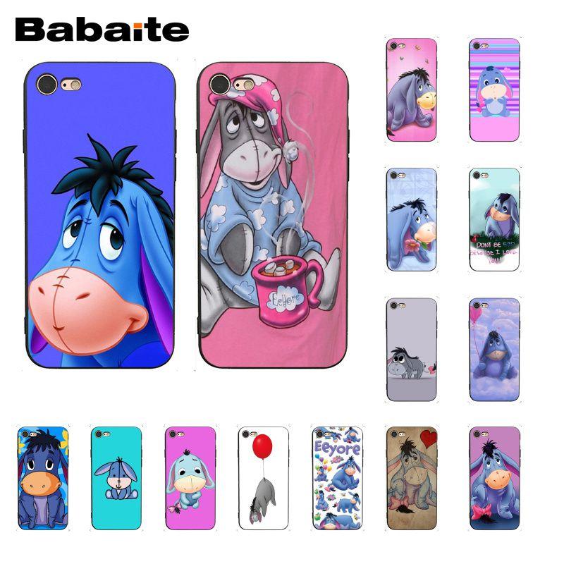 Babaite Baby Eeyore Eeyore Donkey Phone Case for iphone 11 Pro 11Pro Max 8 7 6 6S Plus X XS MAX 5 5S SE XR