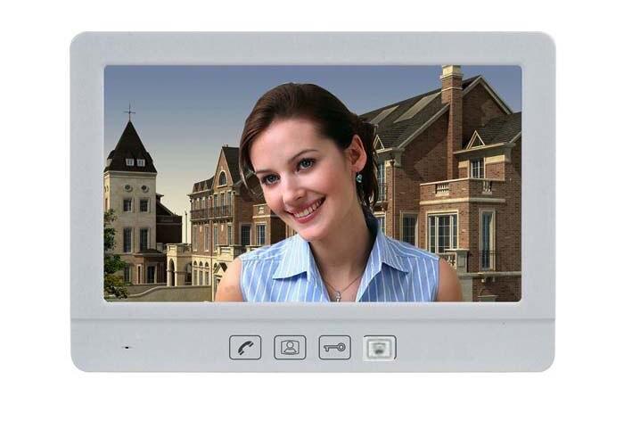 ZHUDELE 10 1 дюймов дисплей проводной видео телефон двери сенсорная кнопка монитор