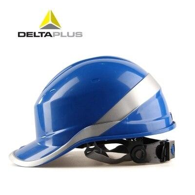 Safety Helmet Work ABS Protective Cap Adjustable Helmet With Phosphor Stripe Construction Site Insulating Protect Helmets недорого