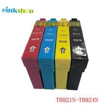Einkshop T0921 T0921N-T0924 Kompatible Tintenpatronen Für Epson TX117 CX4300 TX119 TX106 TX109 C91 T26 T27 Drucker