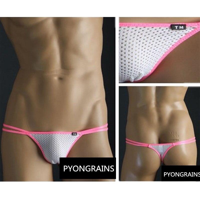 2018 New Sexy Thongs Men Sexy Men Underwear Multi Colors Cueca Gay Men Underwear Low-rise Mens Jockstraps Thong Underwear