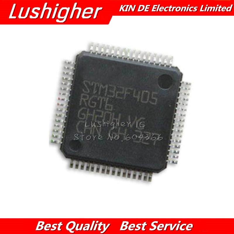 5PCS STM32F405RGT6 QFP64 STM32F405 QFP   new Original IC