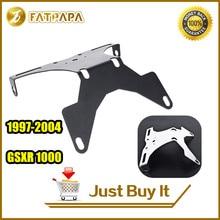 FATPAPA-Freies Verschiffen Motorrad Teile CNC Aluminium Fender Eliminator Für SUZUKI GSXR 1000 GSXR1000 97 98 99 00 01 02 03 04