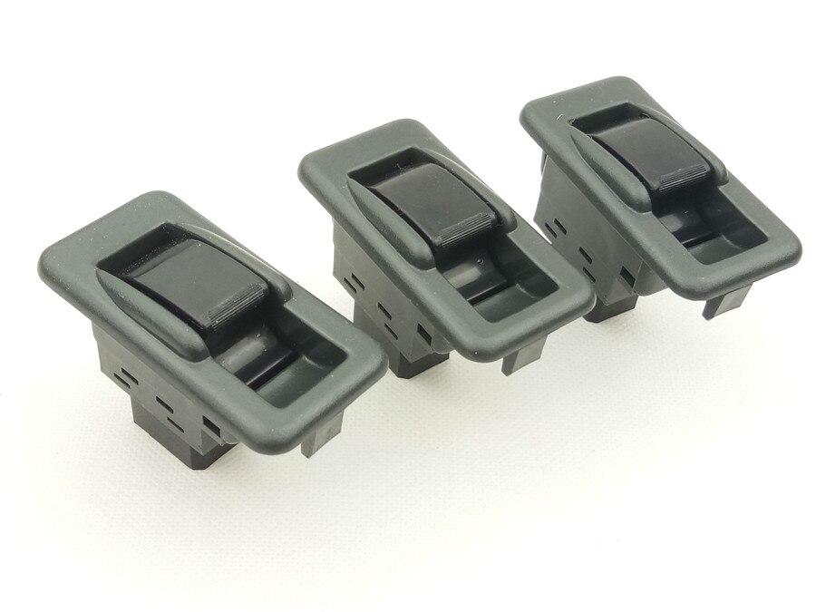 3 uds para Mitsubishi Pajero Shogun MK2 V31 V32 V33 1991-1999 ventana cambio MONTERO ventana interruptor de control