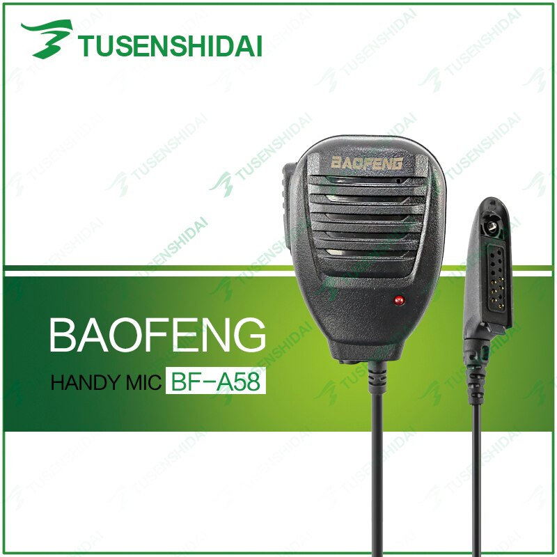 Nuevo altavoz de micrófono baofeng impermeable para BF-A58 BF-9700 Radio de dos vías
