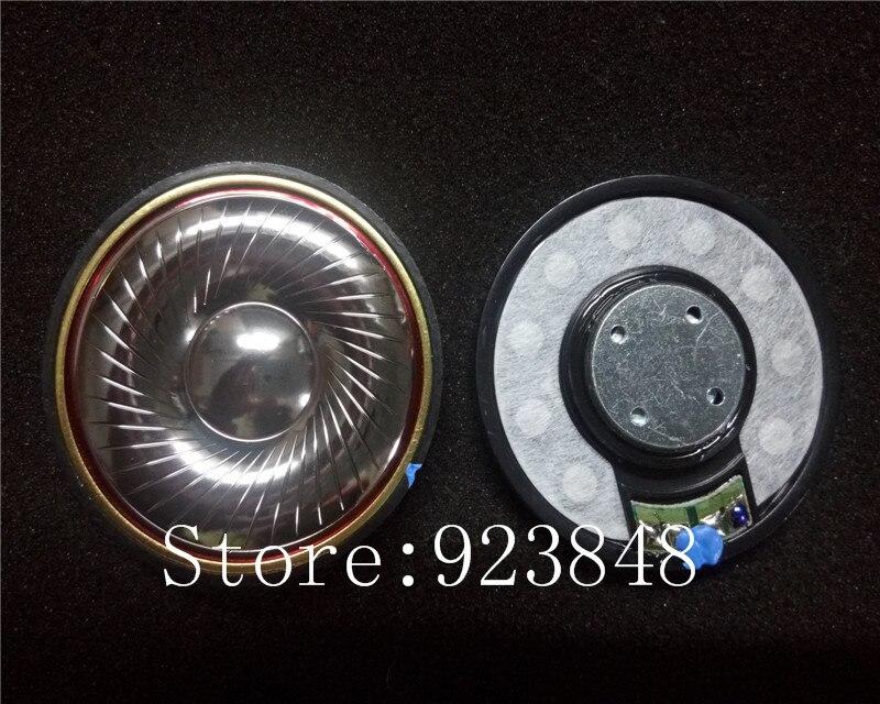 50mm speaker unit vocal plated beryllium Unit high Resolve 32ohms/300ohms 2pcs