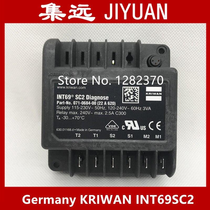 ألمانيا KRIWAN INT69SC2 ضاغط حماية INT69 SC2 تشخيص 22A620 INT69 SC 52A196 INT69 SC-DV