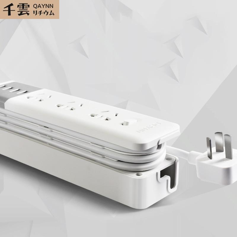 البحوث الحصرية والمأخذ الكهربائي الإبداعي مقبس USB المكونات الصغيرة المحمولة قصيرة رقيقة يمكن إخفاء الخط.