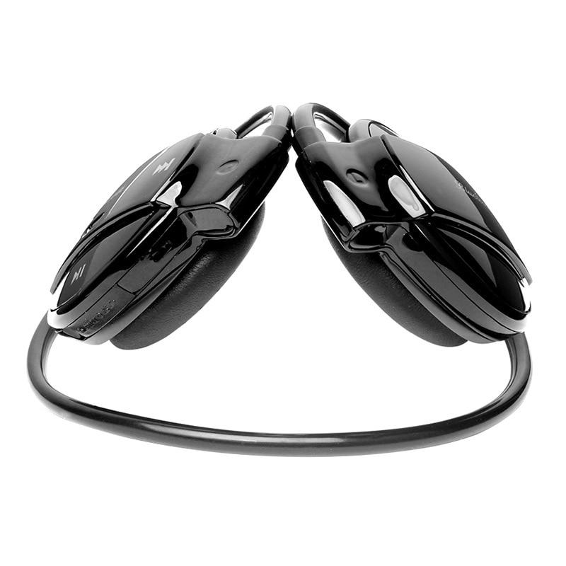 MINI501 sans fil Bluetooth écouteurs stéréo pliable Sport casque TF carte écouteur FM sans fil avec micro pour téléphone