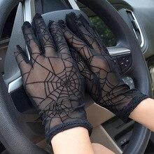 2018 guantes de verano de dedo completo para mujeres, moda fina para cubrir cicatrices, guantes de conducción, guantes de baile sexis para mujeres, mitones de muñeca AGB240